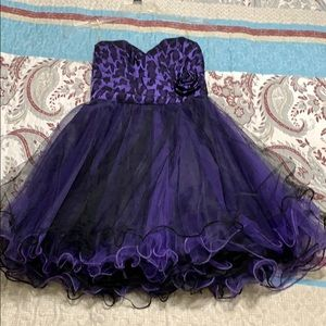 Semi-formal Purple Dress